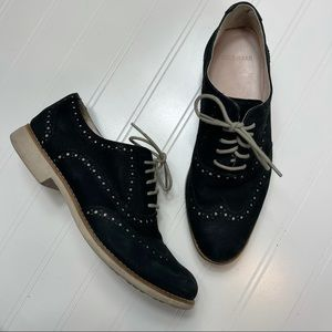 Cole Haan • Leather Wingtip Oxfords